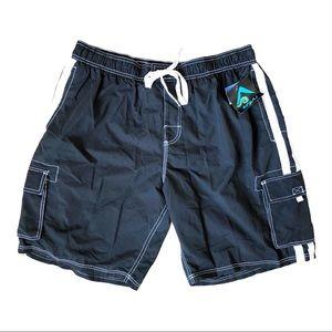Kanu Surf Barracuda Board Shorts/Swim Trunks XXL